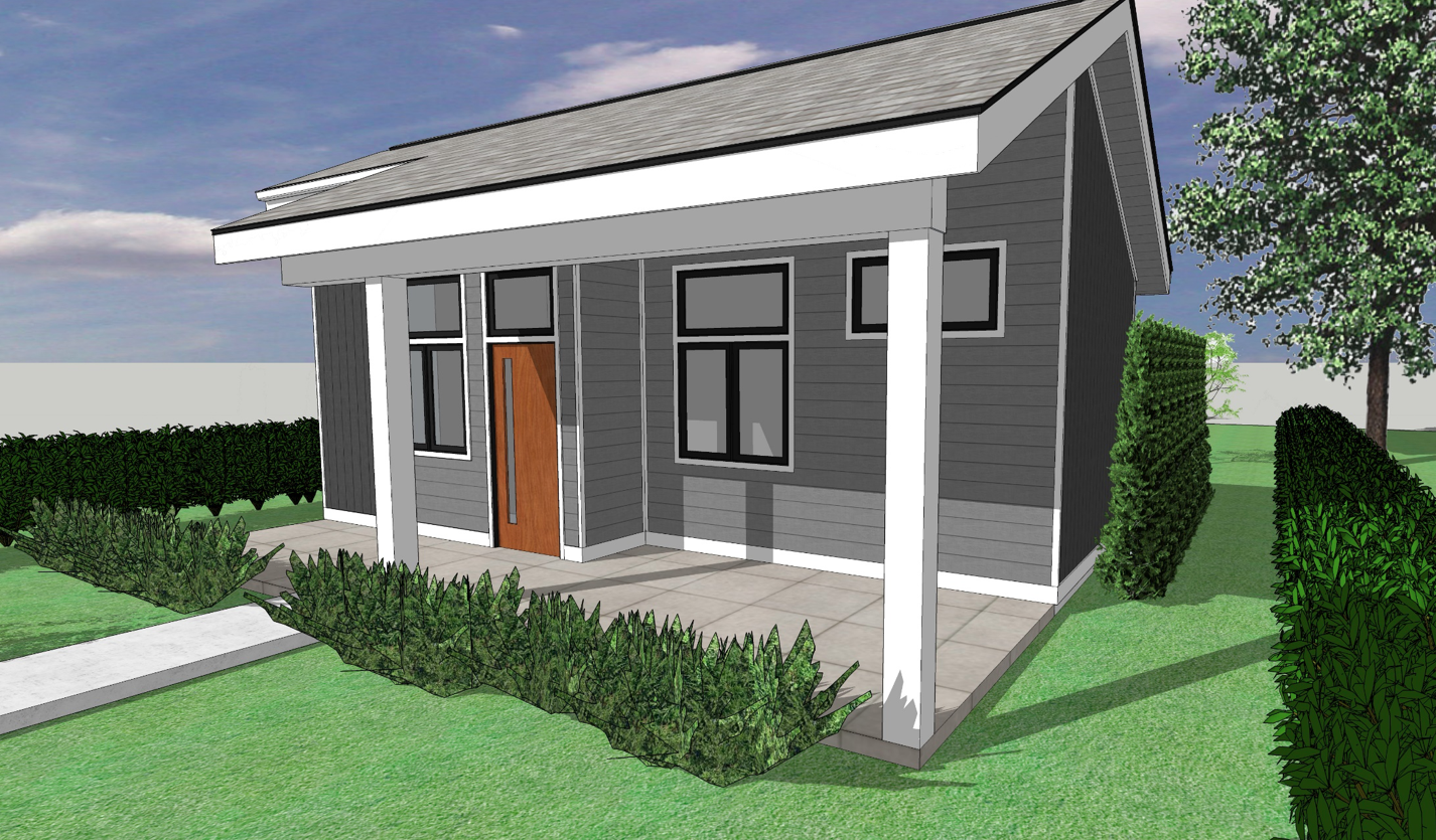 Tiny Home Rendering