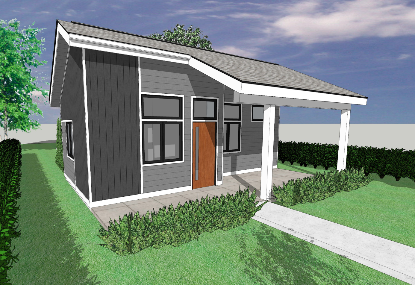 Front of Tiny House