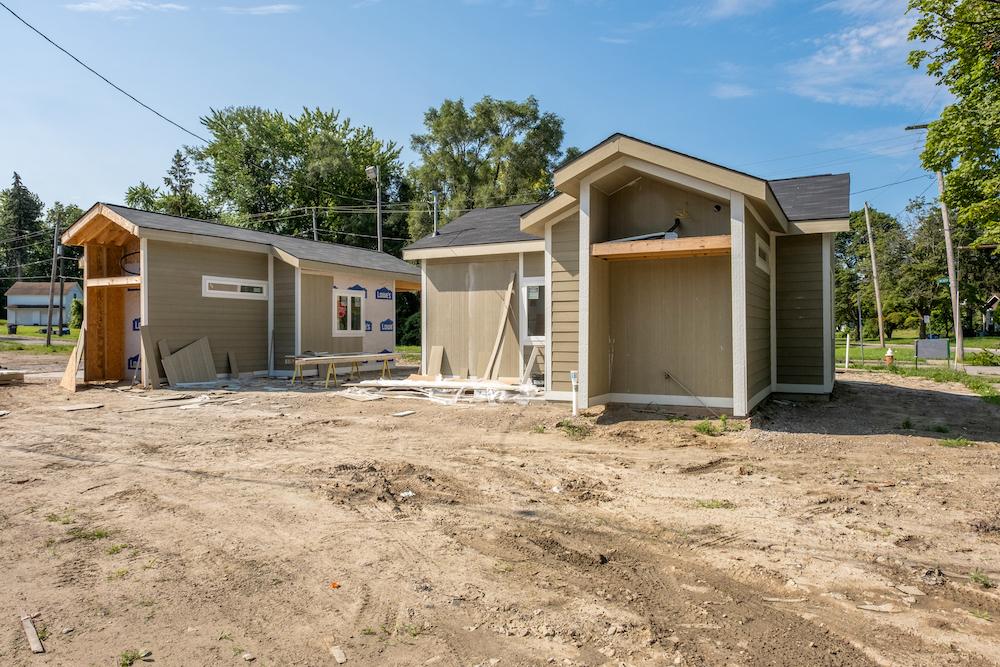Construction Progress July 2021
